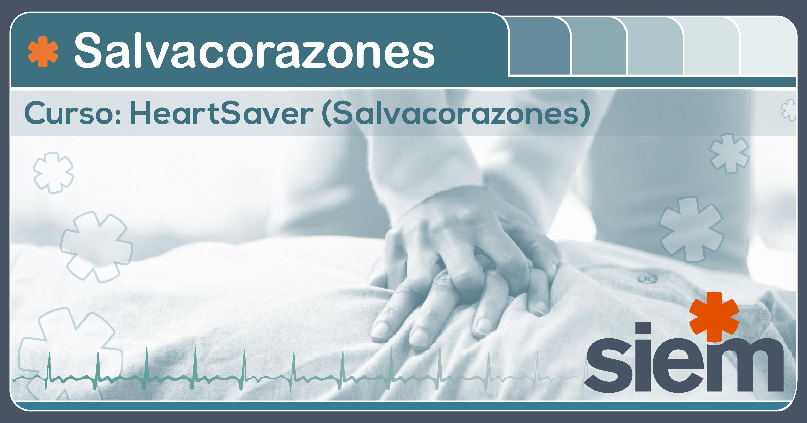 Curso Salvacorazones- Heartsaver (R) Primeros Auxilios con RCP y DEA 19 de Mayo en el SIEM @ SIEM | Buenos Aires | Argentina