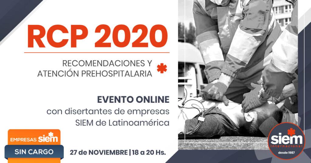 RCP 2020 - Evento online 27 de Noviembre @ SIEM -Online | Buenos Aires | Argentina