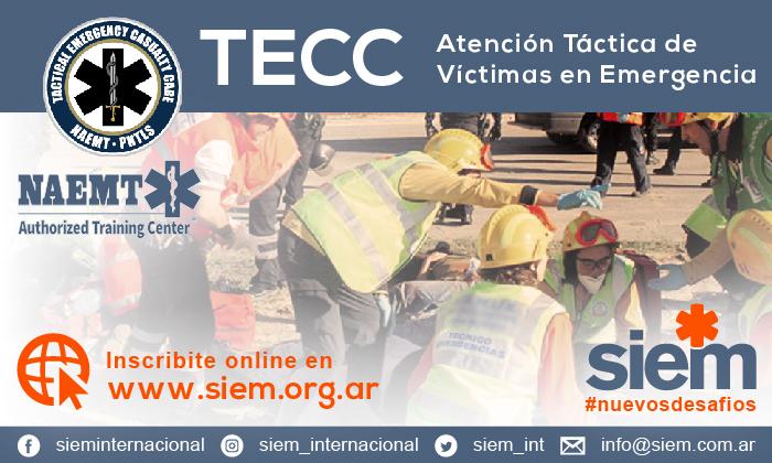 Nuevo curso TECC - 28 y 29 de Noviembre de 2020 @ SIEM