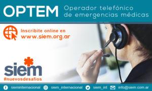12º Curso OPTEM - 30 de Noviembre y 1 de Diciembre de 2020 @ SIEM -Online | Buenos Aires | Argentina