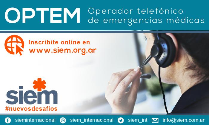 Curso OPTEM - Operador Telefónico - 15 y 16 de Marzo